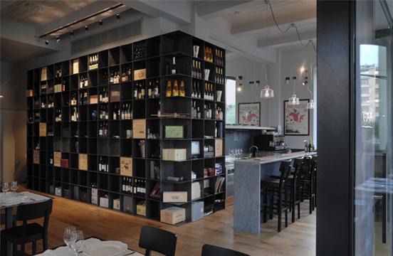 Interior design e architettura tre progetti di ristoranti in mostra per la milano food week - Architetti d interni milano ...