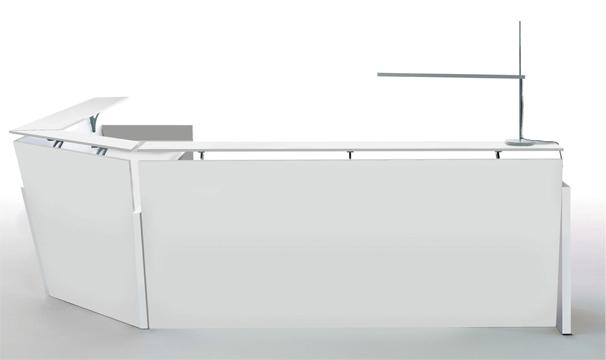Design ecosostenibile arredo ufficio a basso impatto for Mobile reception ufficio