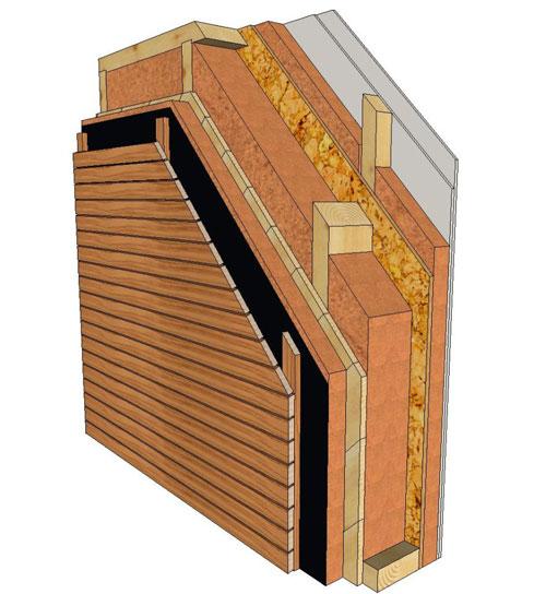 segreti della casa passiva in legno, la Parete Gold di BLM Domus ...