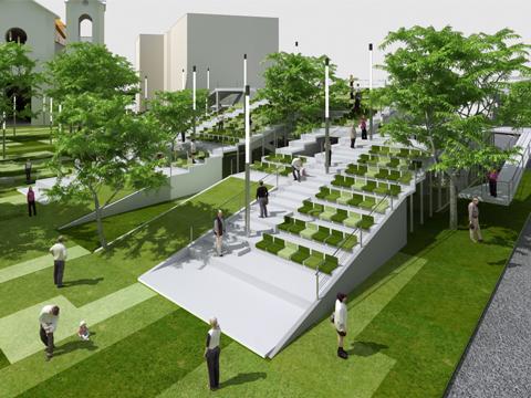 Progetto di riqualificazione di Plaza Bolìvar a Caracas ...