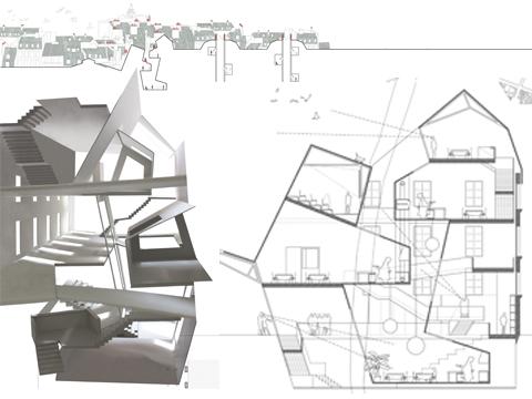 Architettura e spazio urbano paris market lab il for Progetti design interni
