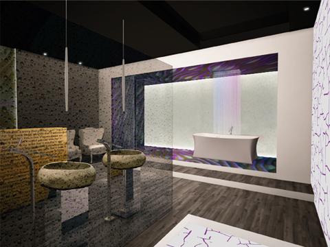 Design e arredamento bagno il progetto di n o w for Superstudio arredamento