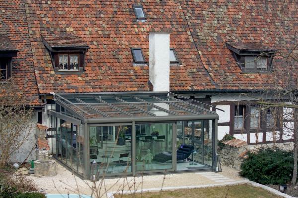 Clima il sistema di copertura per giardini d inverno - Serre solari ...