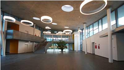 YTONG: edificio scolastico a Isola Vicentina (interno)