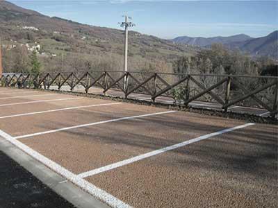 Parcheggio a basso impatto paesaggistico