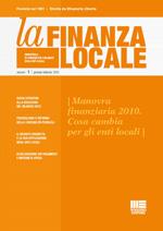 La Finanza Locale