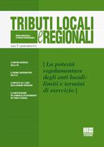 Tributi locali e regionali