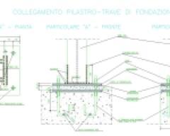 Nodo pilastro-fondazione-acciaio