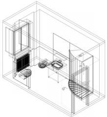Blocchi cad gratuiti arredo mobili e accessori arredamento - Blocchi cad bagno ...