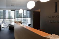 Resstende firma le schermature solari della nuova sede operativa di LLG. Group a Milano