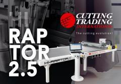 Produttività e qualità di taglio elevate con Hi Raptor 2.5 di Cutting Trading International