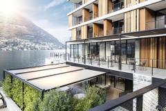 Le schermature Resstende per Il Sereno Hotel di Como