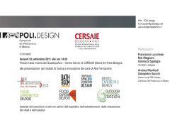 Design Experience 2011 si presenta al Cersaie