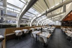 Batyline AW di Serge Ferrari per la Food Hall de La Rinascente a Milano