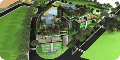 Un resort immerso nel design e nella domotica