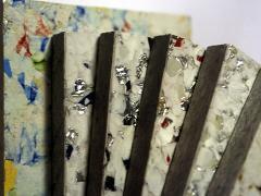 Pannelli in materiale riciclato