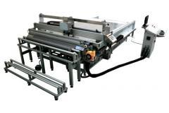Il plotter da taglio automatico multi utensile con piano fisso SM-370-TA