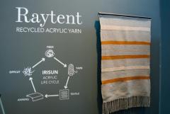 Giovanardi ricicla il tessuto tecnico acrilico con il brand RAYTENT dando vita a filati di alta qualità